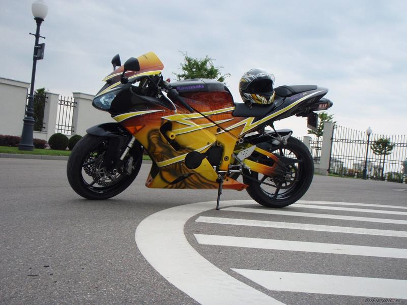 Kumpulan Foto Modifikasi Kawasaki Ninja ZX6R Terbaru