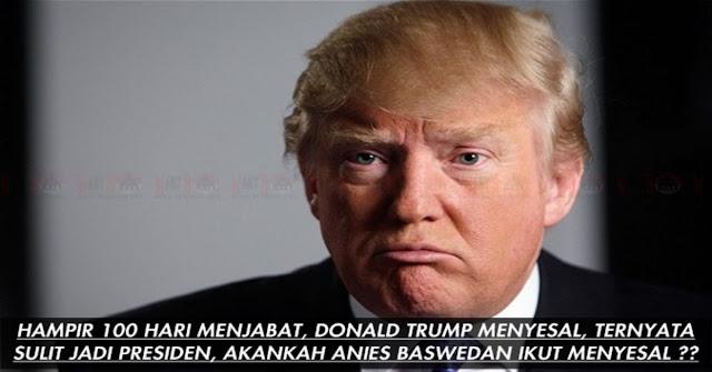 Ngak Nyangka Jadi Presiden SULIT, Donald Trump Menyesal Dan Rindu Kehidupan Terdahulunya