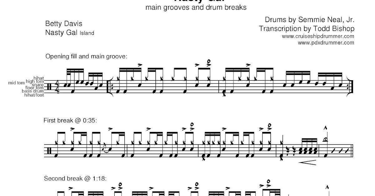 Drum Breaks Blogspot