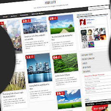 MXfluity Responsive Blogger Template by MKR