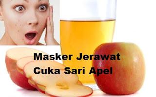 Cara Membuat Masker Wajah Untuk Atasi Jerawat Dengan Cuka Sari Apel