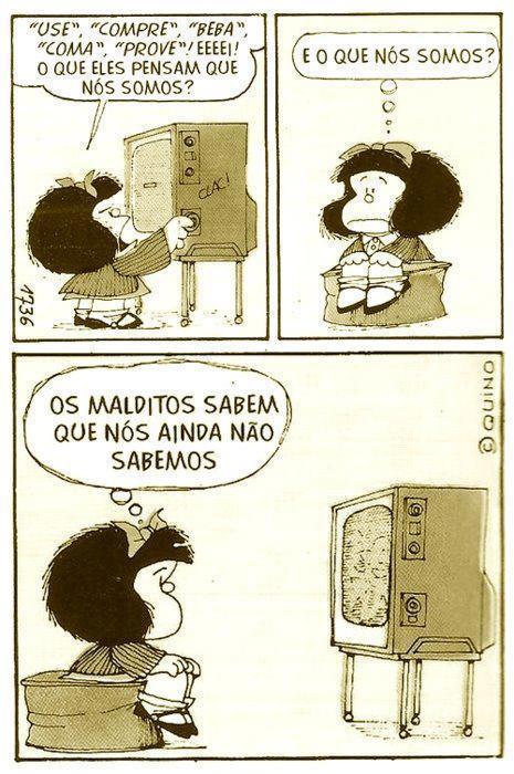 Visão de Mundos: Mafalda e o Consumo...