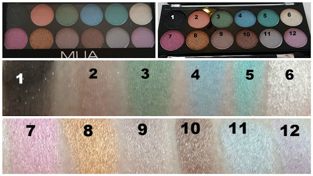 make up academy, swatches, pics, photos, superdrug, eye shadow