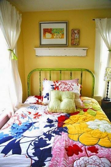 dormitorio vintage infantil