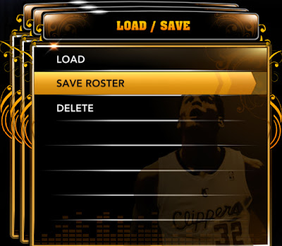NBA 2K13 Tutorial Saving a Modified Roster