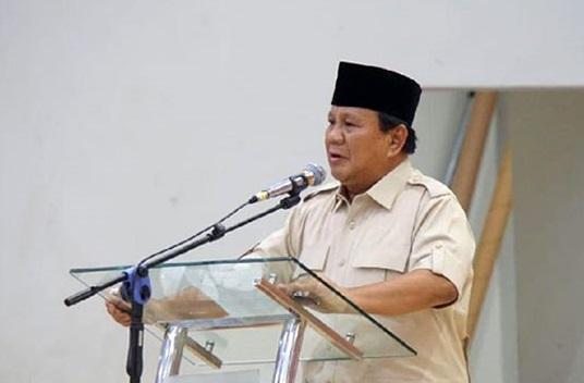 Prabowo: Saya Sedih, Para Elite Sudah Jauh dari Cinta Terhadap Rakyatnya