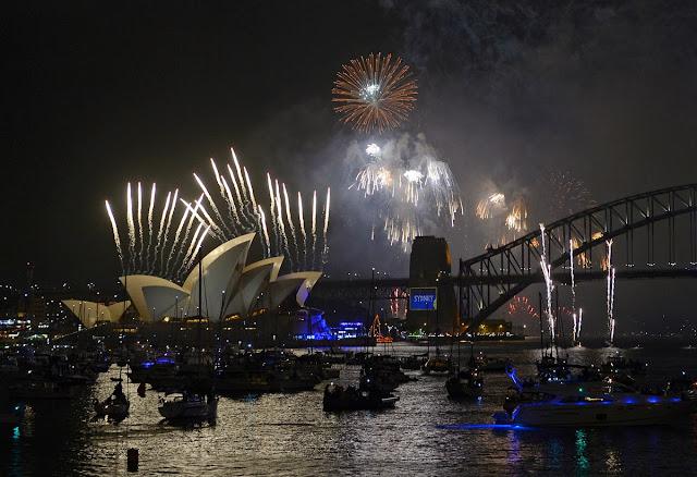 2014 new year celebration opera house australia