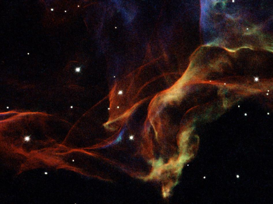 Suburban spaceman: NASA Hubble Image: Revealing the Veil ...