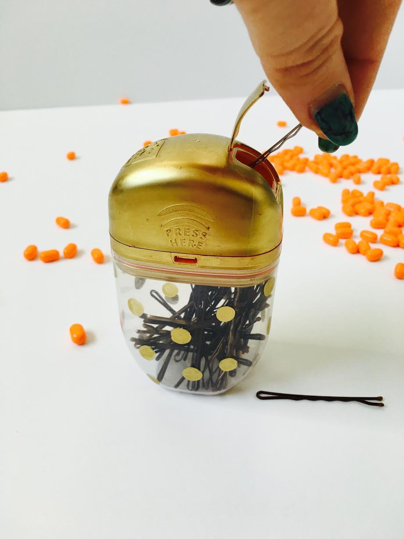 Bobby Pins, Tic Tacs, DIY