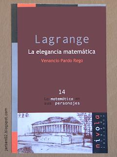 jarban02_pic037:Lagrange. La elegancia matemática de Venancio Pardo Rego