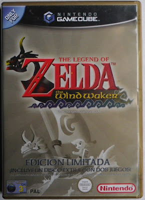 The Legend of Zelda - The Wind Waker - Caja delante