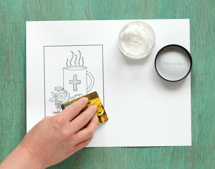 PitterAndGlink How to Prep Coloring Pages for Paint A Free