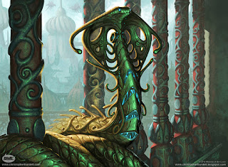 Image result for narnam cobra mtg art