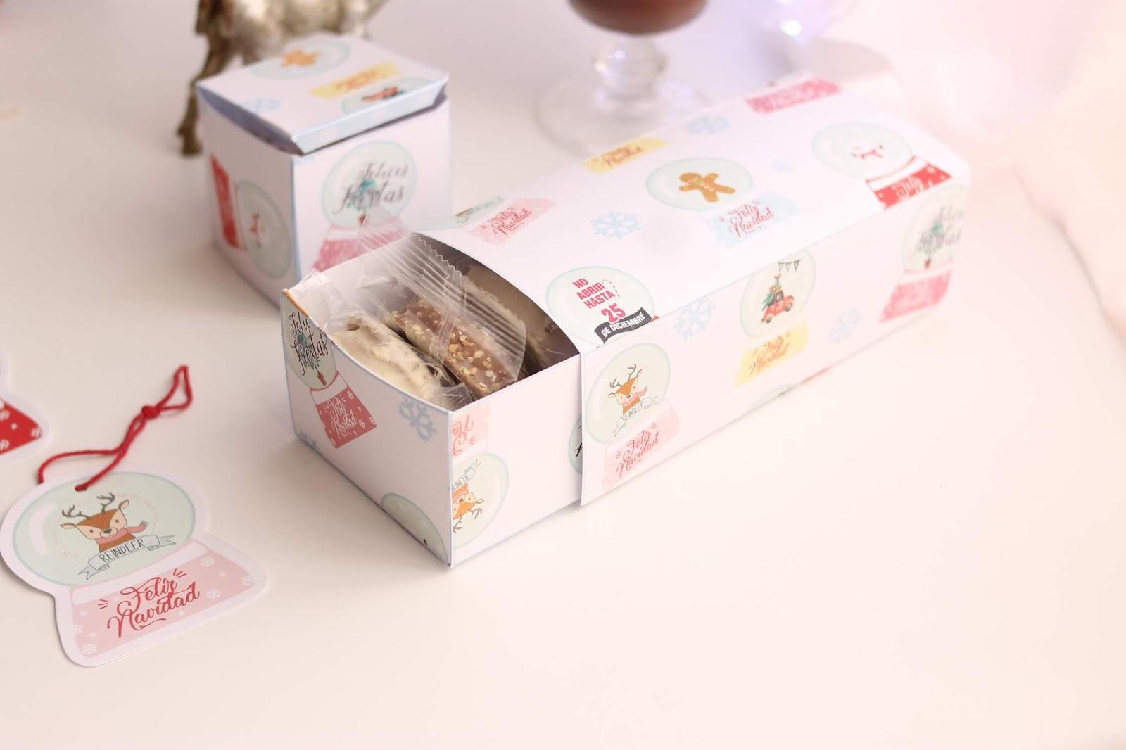Kit packaging Navidad Bola de nieve