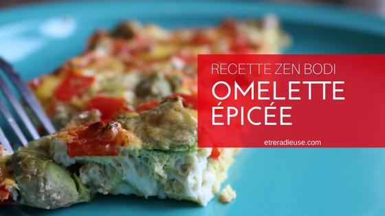 Recette Zen Bodi: Omelette Épicée