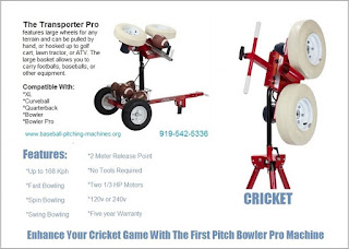 Cricket Bowler And Bowler Pro Enhance Your Game With Professional Equipment