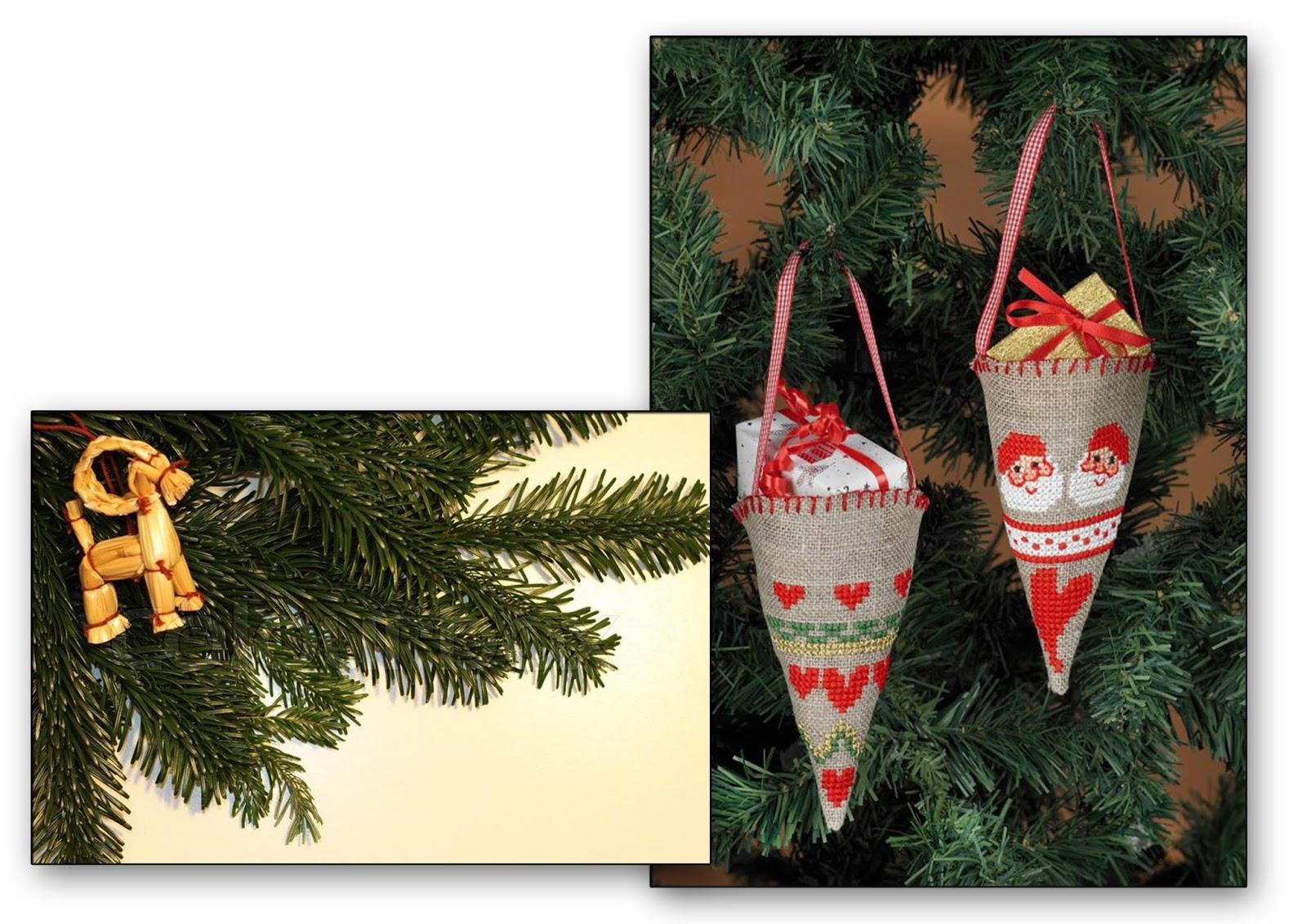 Julebuk i Kræmmerhus duńskie ozdoby świąteczne