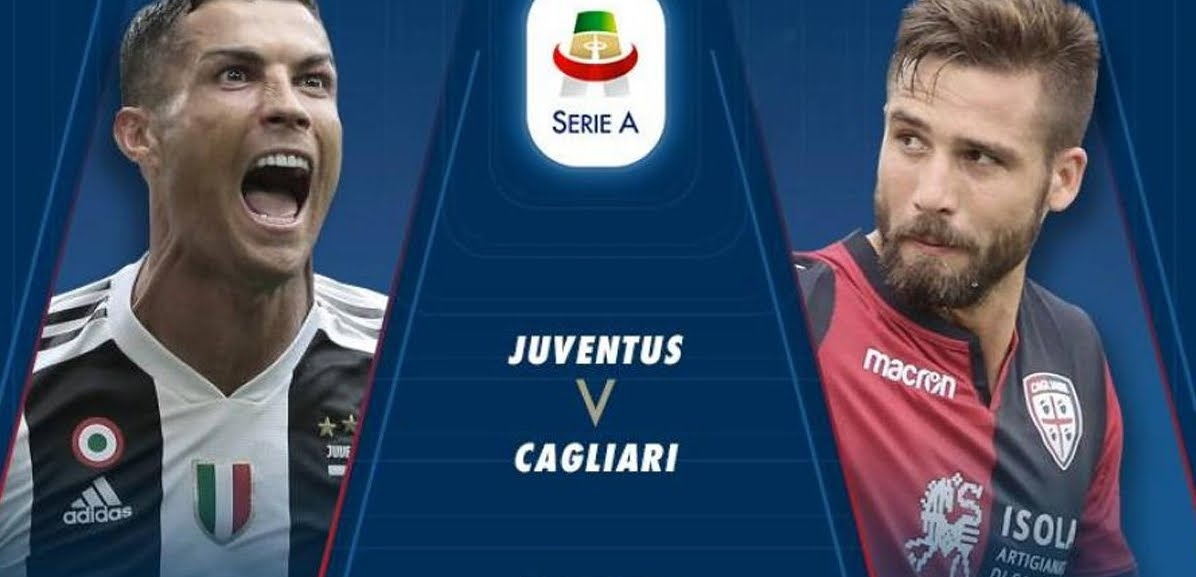 JUVENTUS CAGLIARI Streaming: info YouTube Facebook Sky DAZN, dove vederla gratis con PC iPhone Tablet TV