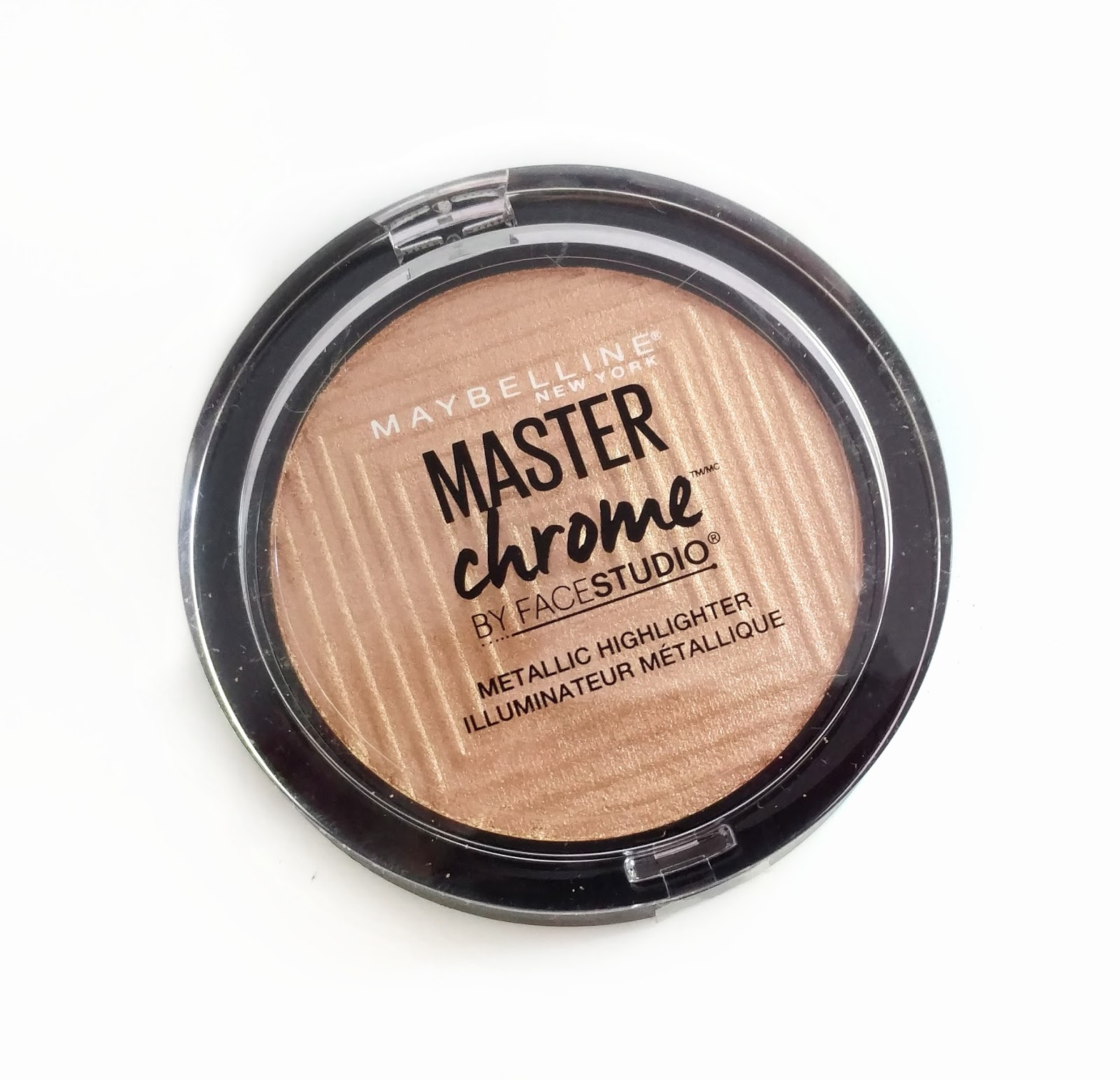 maybelline master chrome highlighter review
