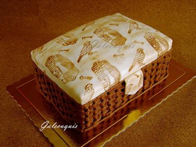 tarta fondant costurero