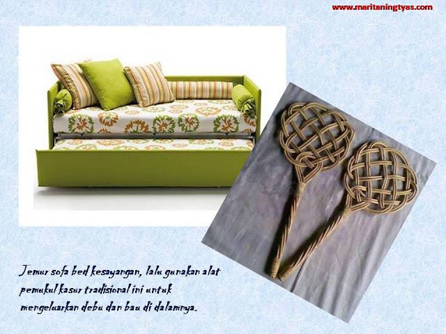 tips menghilangkan bau pada sofa bed kesayangan