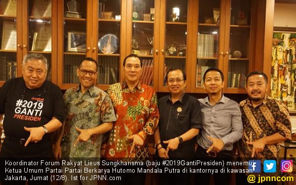 Tommy Soeharto Dukung #2019GantiPresiden