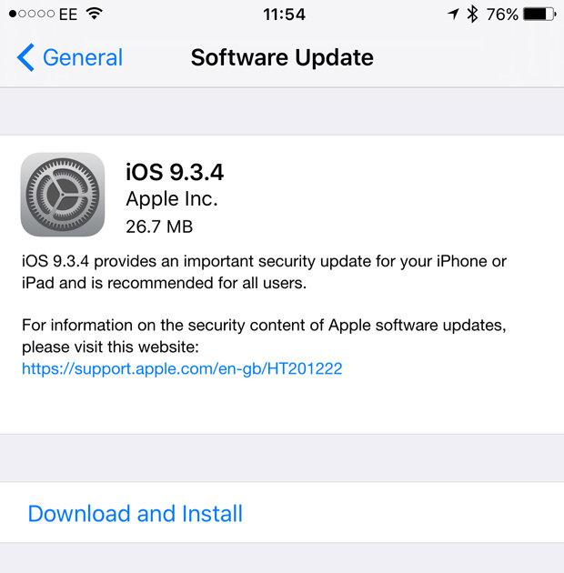 Apple acaba de lançar uma atualização importante para o iPhone - MichellHilton.com