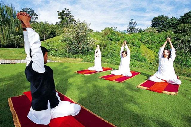 Yoga and spiritual