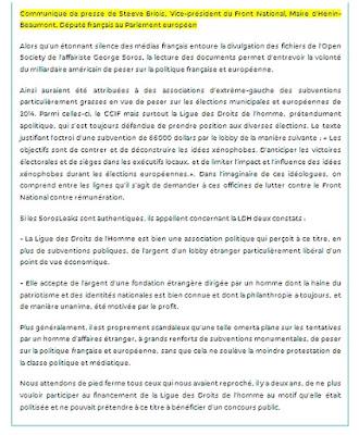 Scandale : Soros finance le CCIF et la Ligue des Droits de l'Homme dans France ccif%2Bldh%2Bsoros%2Bbriois%2BFN