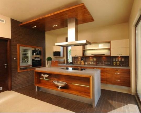 Tatanan Dapur Bersih Minimalis Modern