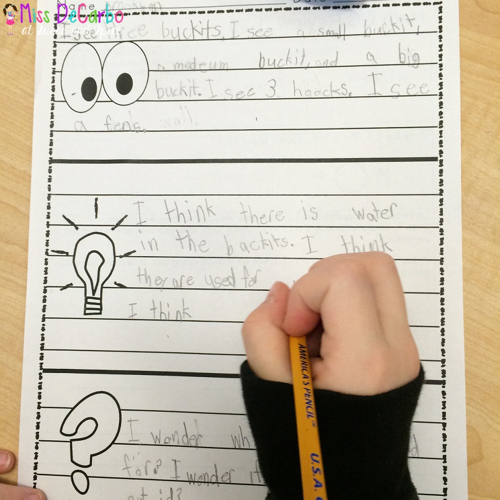 medium resolution of Is Your Morning Work Making Kids THINK? - Miss DeCarbo