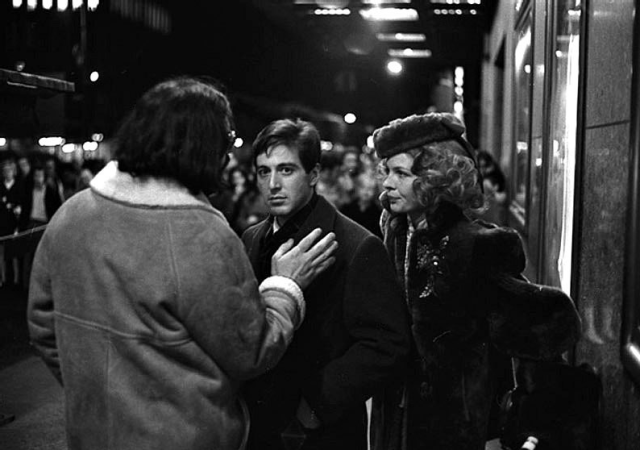 diane keaton on the set of �the godfather� vintage everyday