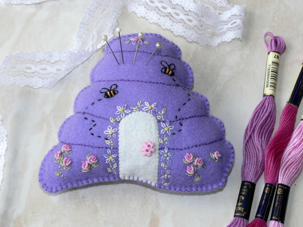 Journey Of A Stitcher: Pincushions And