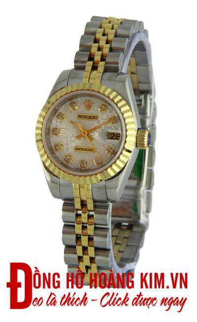 Đồng hồ nữ rolex dây sắt mới nhất