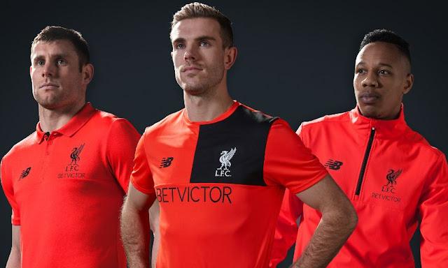 Allenamento calcio Liverpool originale