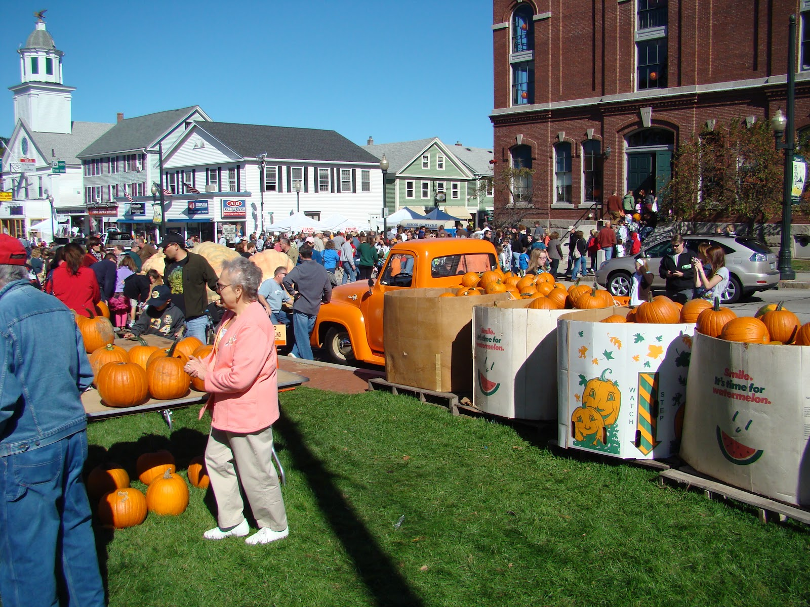 Milford great pumpkin festival