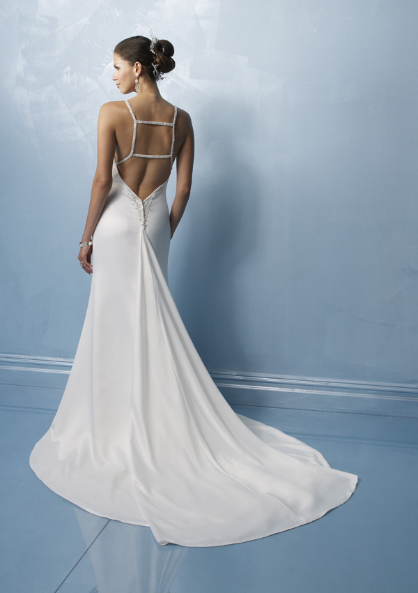 If The Gap Is Not Enough Brides Especially Those Who Are Bold And Y Bride Can Be Considered A Low Cut Back Dress Most Designers Attach Great