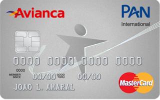Cartão PAN Avianca MasterCard Internacional