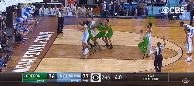 HIGHLIGHTS: North Carolina vs. Oregon (VIDEO) March Madness Final Four 2017