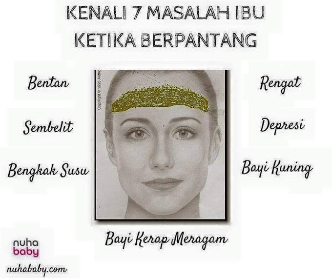 [INFO GRAFIK] 7 MASALAH IBU DALAM PANTANG DAN CARA MENGATASINYA!