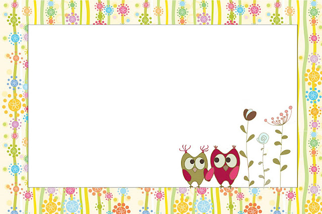 Owls Couple Free Printable Invitations Oh My Fiesta