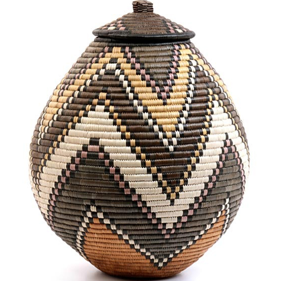 African Baskets: Iheartprintsandpatterns: African Basket Weaving