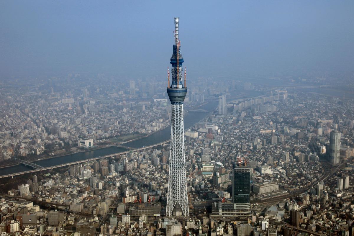 Resultado de imagen de edificio Tokyo Sky Tree
