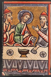 Iconography of the Resurrection – Emmaus – The Recognition