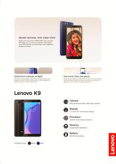 Hilang Dari Peredaran , Kini Lenovo Bangkit Bersama Lenovo K9