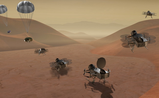Tinuku NASA aims to land robot on comet or Titan in 2020s