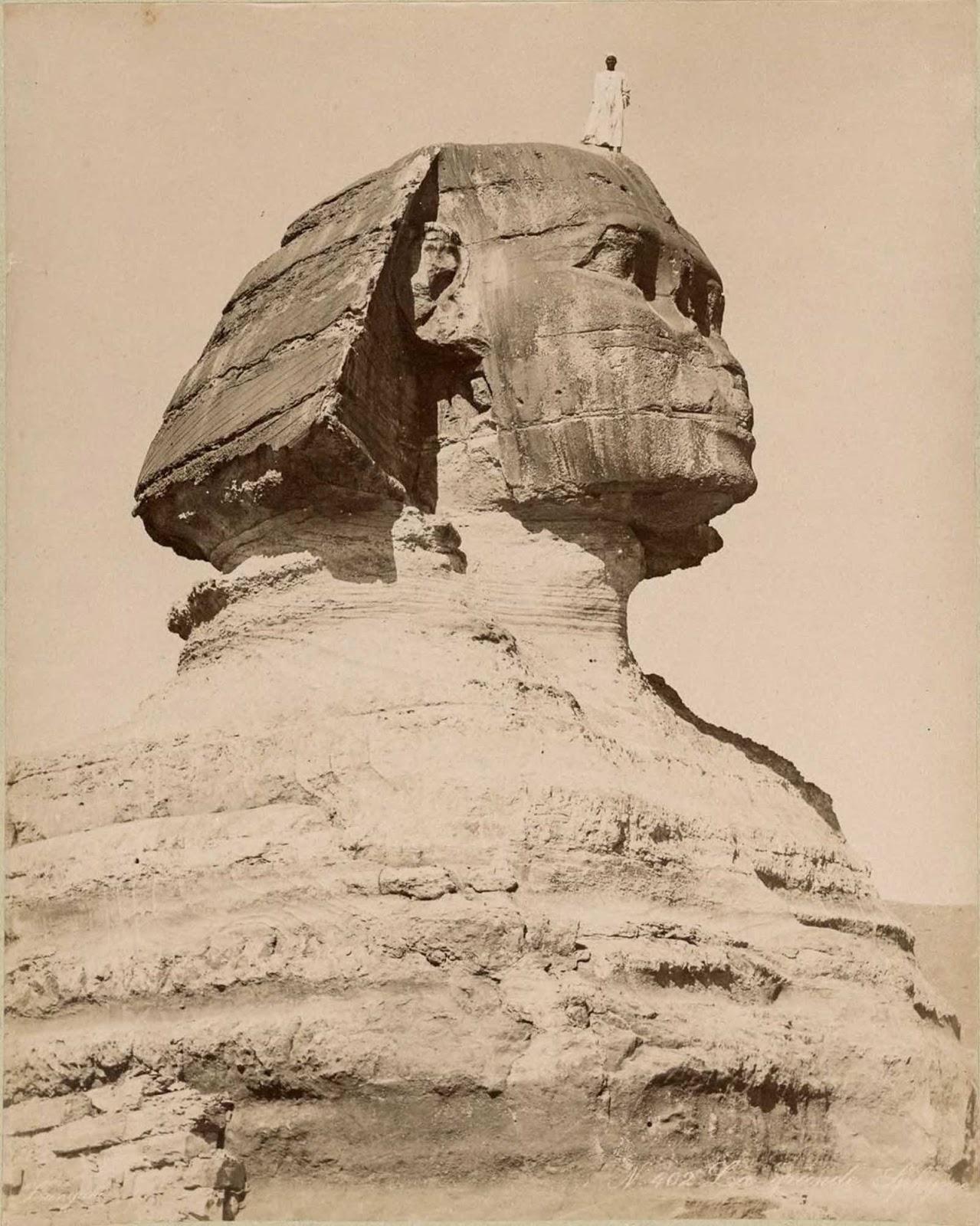 La Gran Esfinge de Giza.