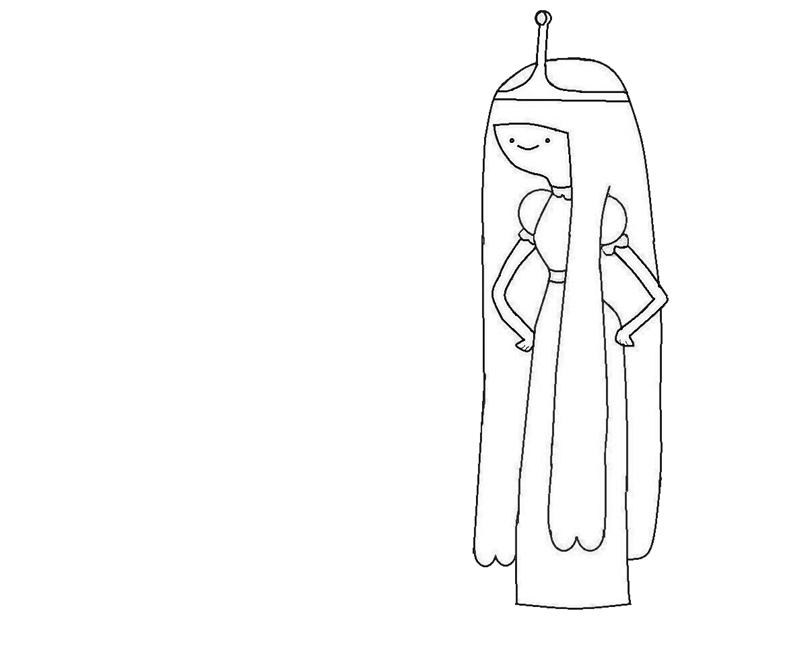 princess bubblegum coloring pages - photo#15