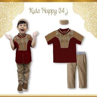 Baju Lebaran Anak Laki Laki Terbaru