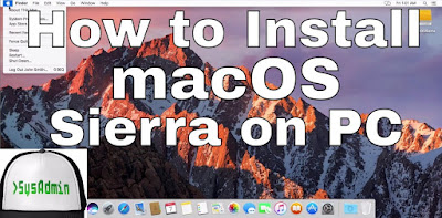 macOS Sierra 10.12 on PC